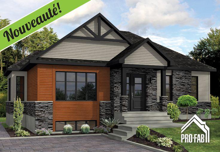 Pro-Fab | Constructeur de maisons modulaires, usinées, préfabriquées | Modèle Caturra