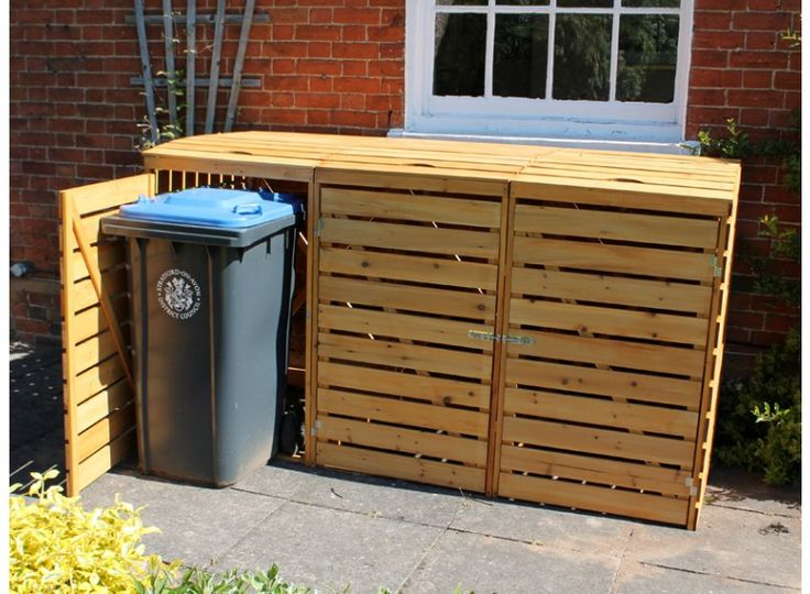 Eco Triple Wheelie Bin Cover