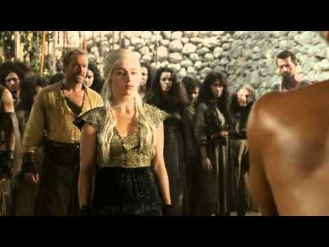 Game of Thrones Episode 8 - Khal Drogo scene - YouTube