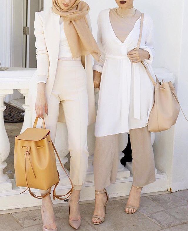 neutral hijab outfits                                                                                                                                                                                 More