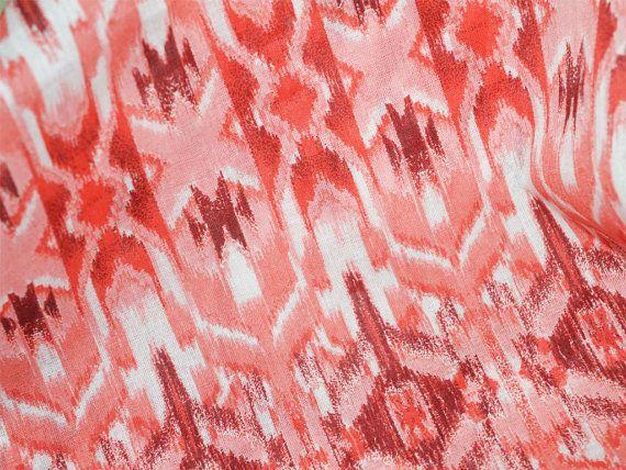 Ikat Print Baumwollgewebe  Drucken Indian von Indianlacesandfabric