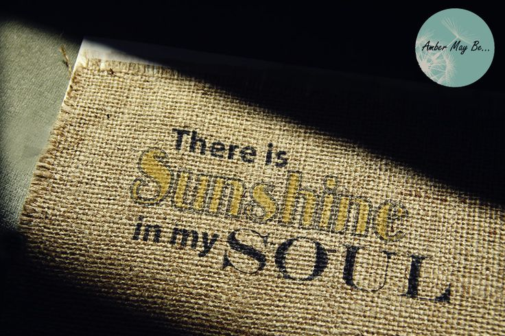 How to Print on Burlap: Printable, Quotes, Sunshine, Card Stock