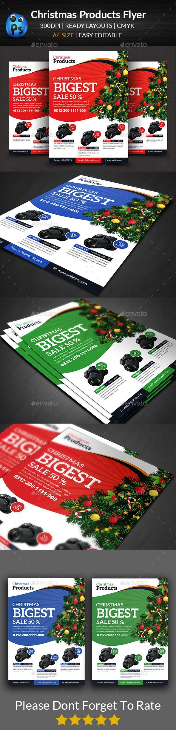 96 best product promotion flyer commerce flyer print christmas product flyer templates pronofoot35fo Gallery
