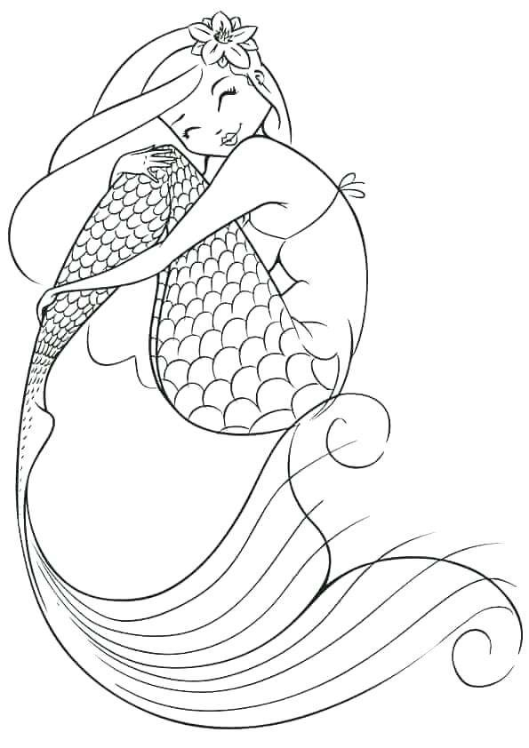Baby Mermaid Coloring Page Youngandtae Com Mermaid Coloring Pages Fairy Coloring Pages Mermaid Coloring