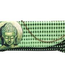 Buy Wavy Flap Digital Clutch (Green) clutch online