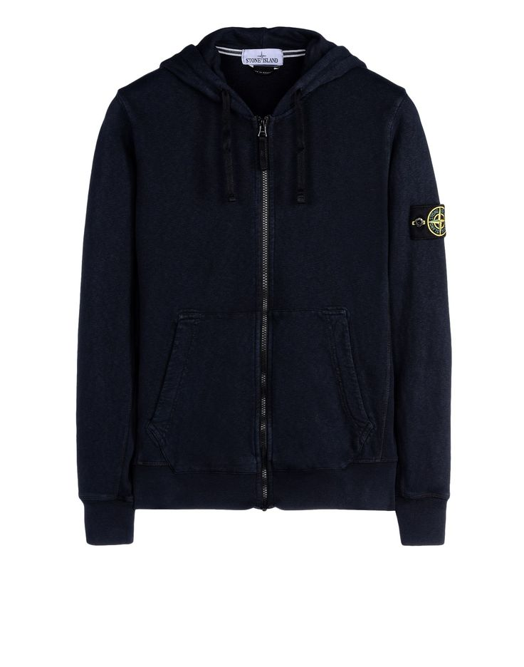 65260 T.CO+OLD Sweat Avec Zip Stone Island Homme - Official Online Store