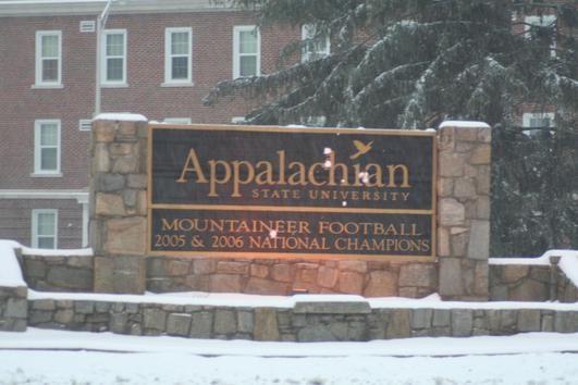 Boone...Appalachian State University