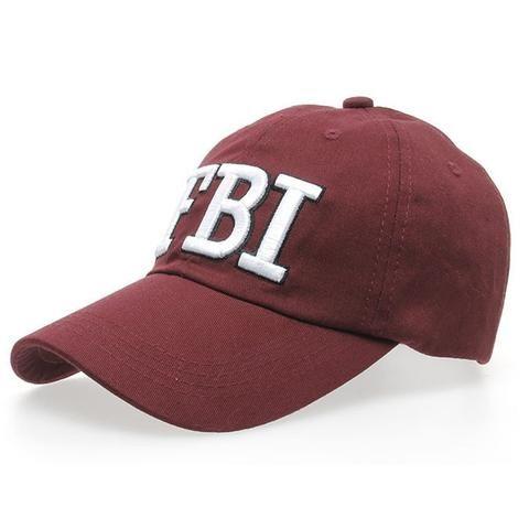 85b63b5021c 2018 Women Men FBI Letters Denim Baseball Cap Snapback Hip Hop Flat Hat  Embroidery Cottonhat New Style Adjustable Dance HOT CNO