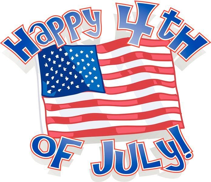 11++ Happy july 4th clipart info