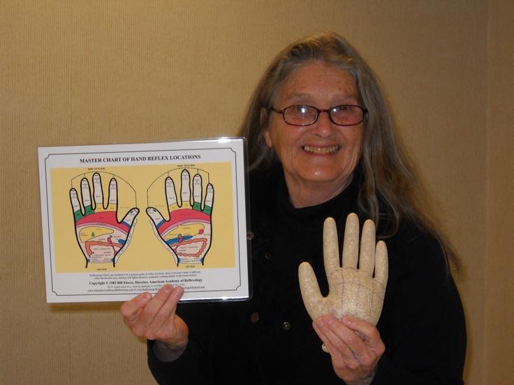 Creative studying approaches to Hand Reflexology.  www.AmericanAcademyofReflexology.com