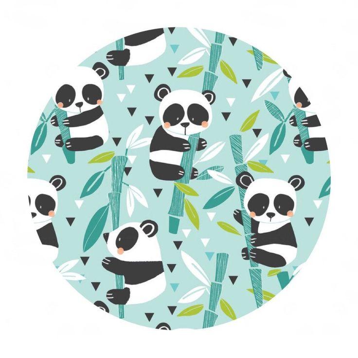 Online Fabric Canada - Blend Fabric - Panda-rama