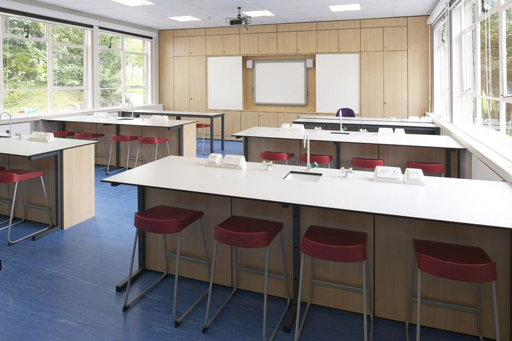 Design and refurbishment of Science Labs. Famous for being the site of the first trans-atlantic two way radio connection, the Science Building at Mill Hill School has been extensively refurbished by taskspace, resulting in first-class laboratories; suitably designed to compliment the prestigious building, opened by Prince Edward in 1924. #classroomdesign #schooldesign