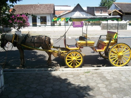 Let's epxlore Jogja with the horse cart!