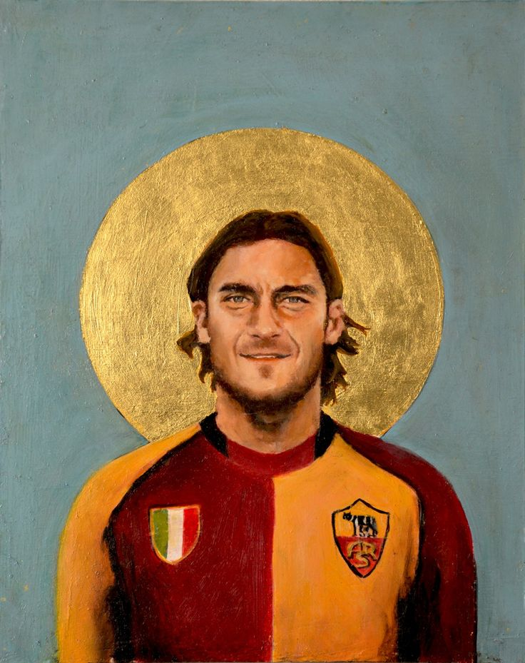 A Football Report - Football Icons, by David Diehl Totti