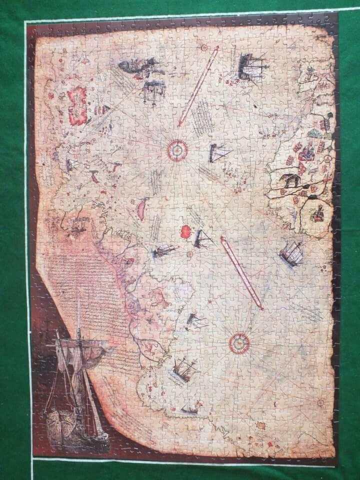 Piri reis puzzle