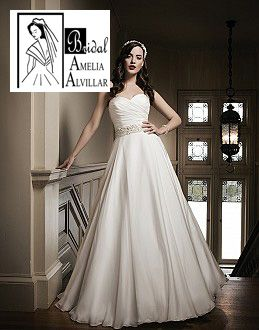 Bridal amelia alvillar el paso texas wedding for Wedding dresses el paso tx