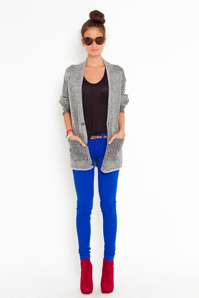Primary Skinny Jeans - Blue