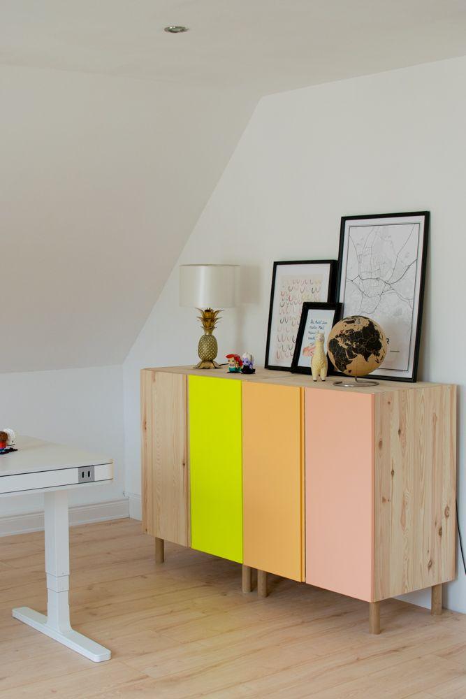 Ivar Kommode Von Ikea Im Diy Livingroom Wohnzimmer Pinterest