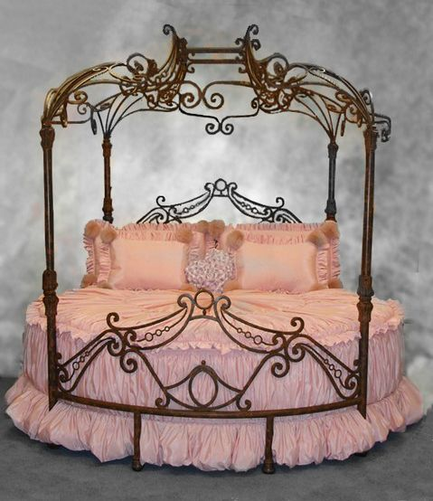 Windsor Bed  ~ French Boudoir..... I would so love to wake up in this every morning