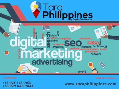 Tara Philippines is a full-service digital marketing company that is located in the Philippines. We have a team of creators, strategists, and consultants that assist our clients on how they interact and acquire new customers in a competitive digital marketplace. The world is going digital, so should your business! Contact +63 925 378 9153 / +63 929 648 9843 for a free consultation or visit our website at http://www.taraphilippines.com. We offer: Tara Ph Tara Philippines