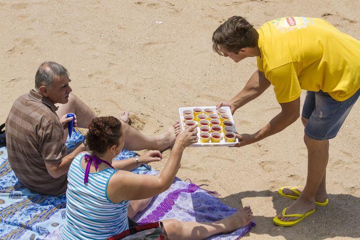 Taste the Brightside | Lipton Summer 2014 | Umhlanga Beach - Sampling Activation
