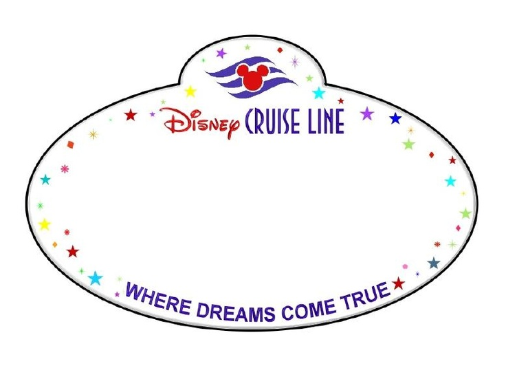 Dcl name tag disney cruise pinterest for Door name tag template