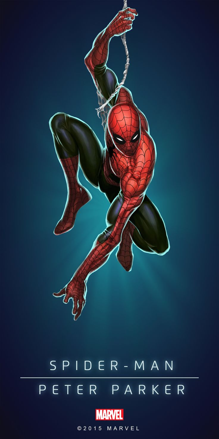 #Spiderman #Fan #Art. (SPIDERMAN - PETER PARKER IN: MARVEL'S PUZZLE QUEST!) BY: AMADEUS CHO! (THE * 5 * STÅR * ÅWARD * OF: * AW YEAH, IT'S MAJOR ÅWESOMENESS!!!™) [THANK U 4 PINNING!!!<·><]<©>ÅÅÅ+(OB4E)(IT'S THE MOST ADDICTING GAME ON THE PLANET, YOU HAVE BEEN WARNED!!!)