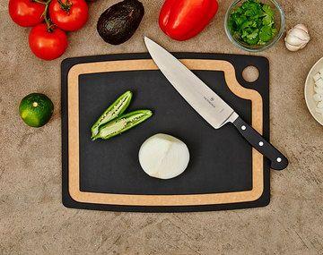 """Epicurean - Cutting Boards - Gourmet Cutting Board - 14.5"""" x 11.25"""" - Slate/Natural"""