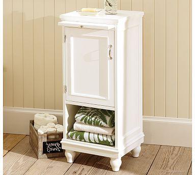 Newport Sundry Cabinet #potterybarn $349 bathroom storage