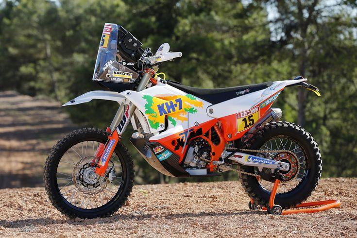 laia.sanz KTM Rally Dakar 2018