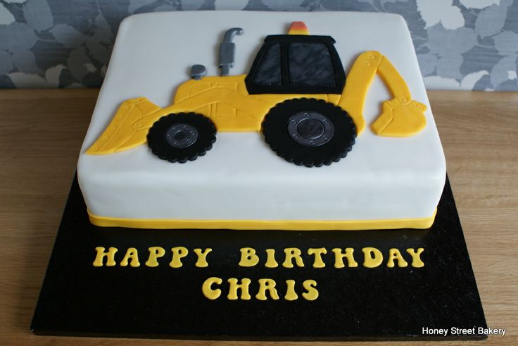 Best 20 Excavator Cake Ideas On Pinterest Construction