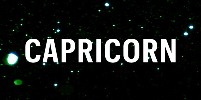 Capricorn Weekly Horoscope August 1st