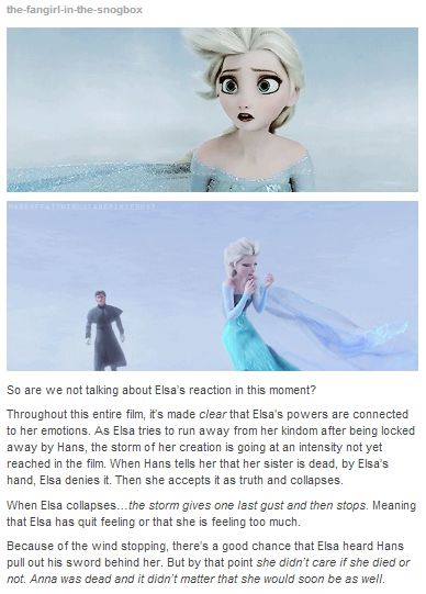 No no no, please, someone give Elsa a big hug. I don't care if she's a fictional animated character; her story is breaking my heart!       no no no no no no no no no no no no no no no no no no no no no no no no no no no no no no no no no I WILL NOT ALLOW THIS!!!!!!