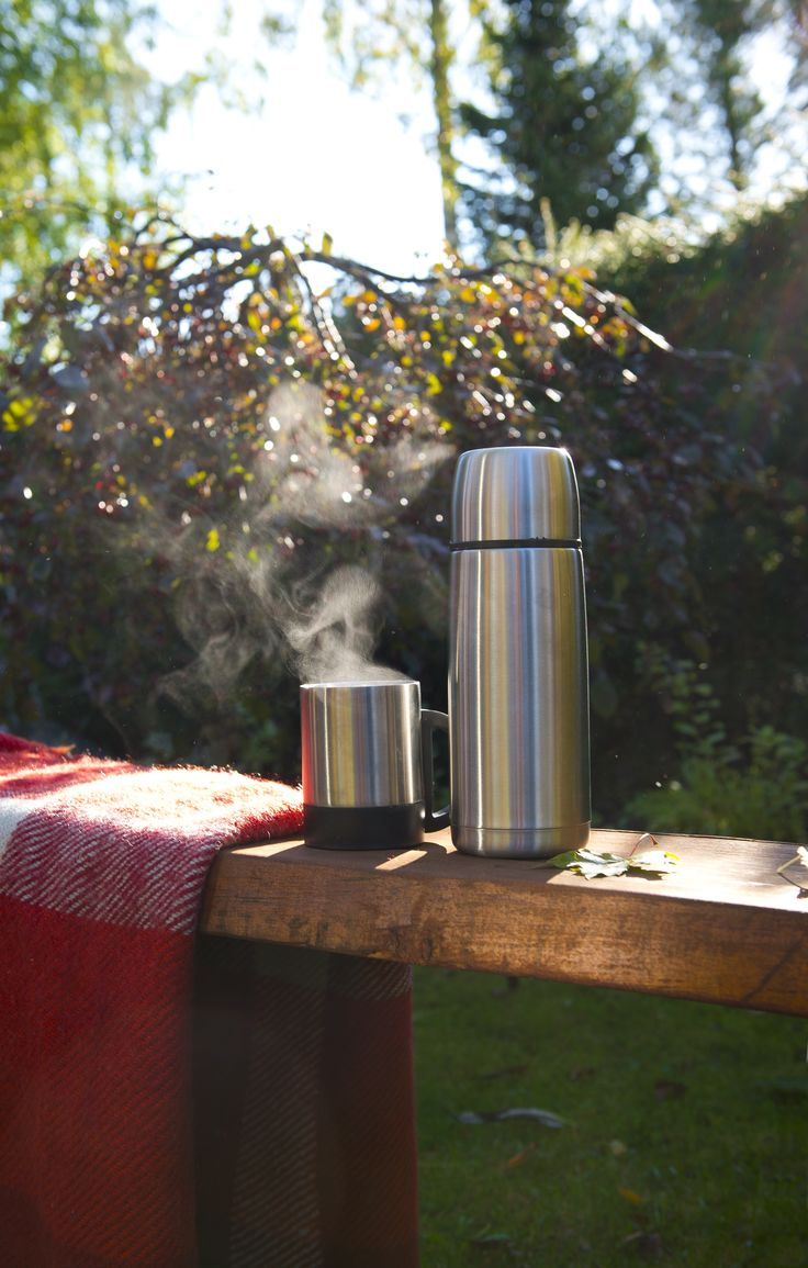 Airam thermos bottle & mug