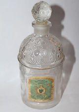 VTG Guerlain Paris Eau de Cologne Splash Extra Dry Imperiale Bee Bottle
