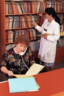 Medical Receptionist Tips  by Priti Ramjee, Demand Media