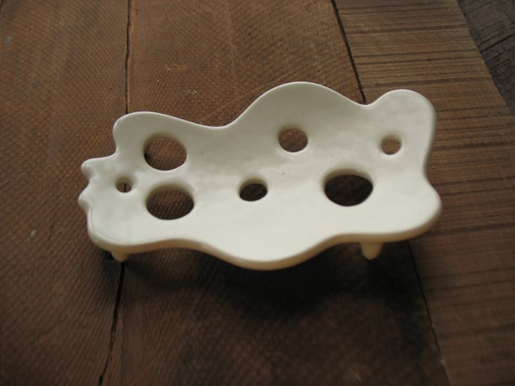 Soap dish, maybe try to make it in polymer?