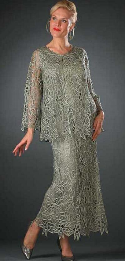 Check out the deal on Soulmates 3-Piece Silk Evening Dress C80952 at French Novelty