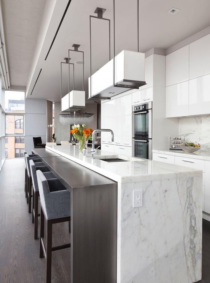 Tribeca luxury penthouse interior design by Purvi Padia Design in New York City.