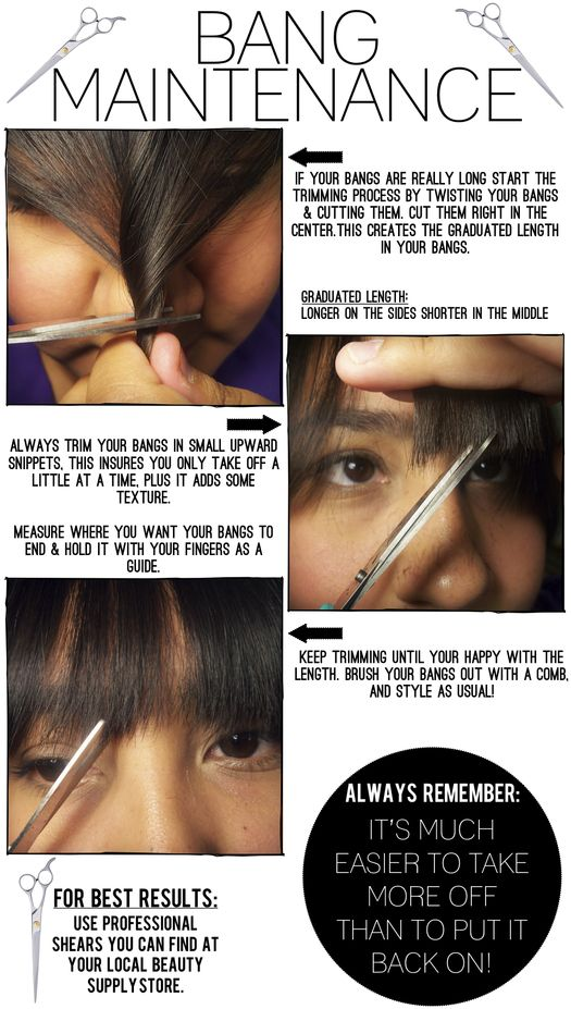 The Style Dossier: How to cut your bangs