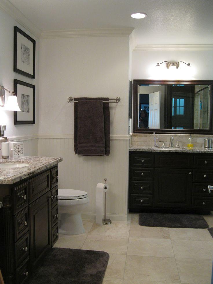 50 best master bathroom images on pinterest bathroom for Charcoal grey bathroom accessories