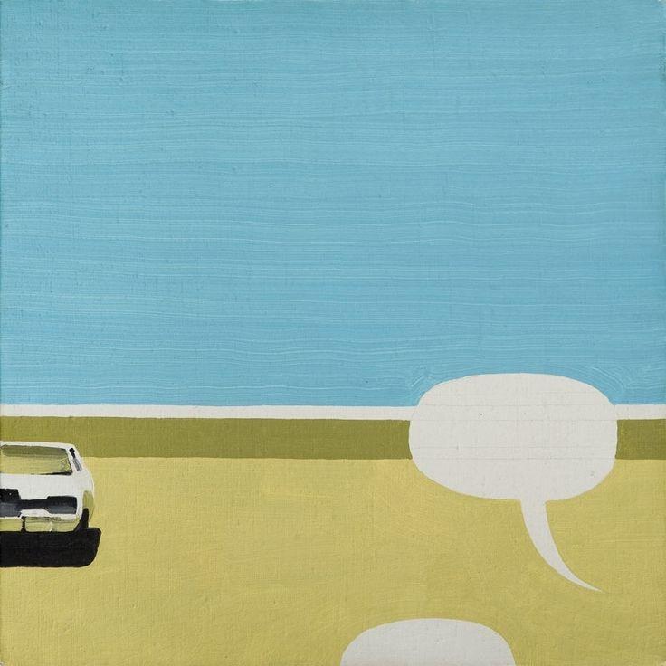 Thunderstruck (Wilhelm Sasnal (Polish, b. 1972), Untitled, 2001....)