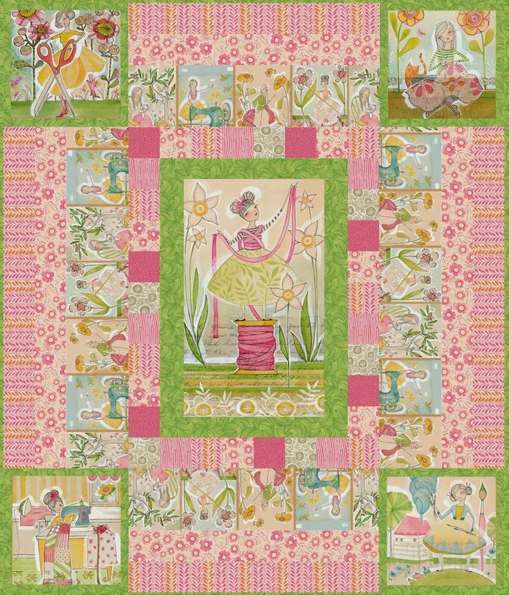 Free Quilt Pattern For Quot The Makers Quot Pink Colorway