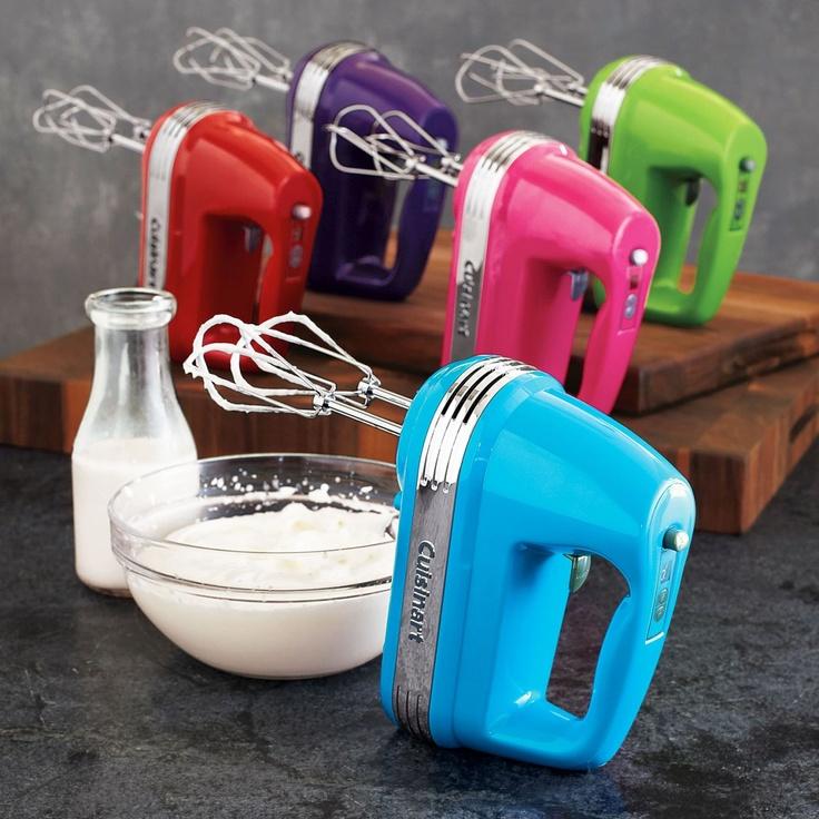 Pink Hand Mixer ~ Cuisinart hand mixer kitchen favs pinterest