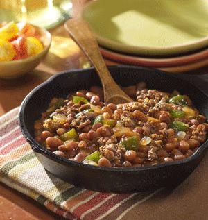 Western Bean Skillet Recipe