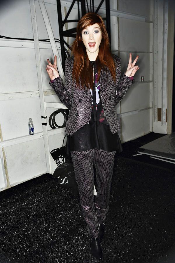 Richard Chai Love Fashion Show, more backstage pics here http://sonnyphotos.com/2014/02/richard-chai-love-aw14-15-fashion-show-new-york-backstage