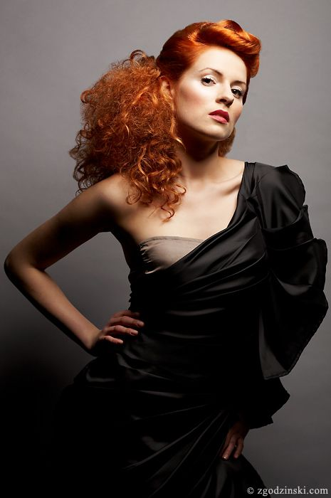 The winner in L'Oréal Color Trophy 2008, published in the major Polish montly magazine for women - Twoj Styl.