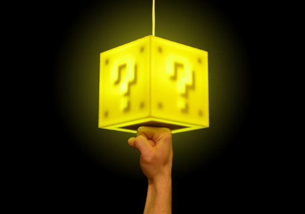 Touch sensitive block lamp. Must also have!