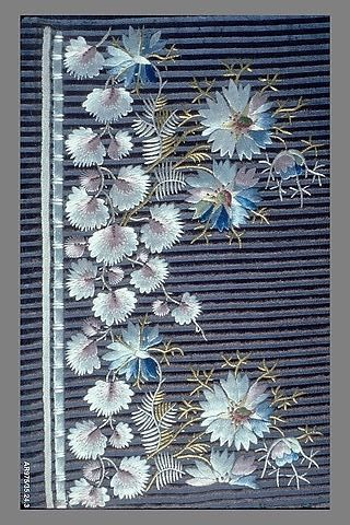 Embroidery Sample (France), 1790-1805