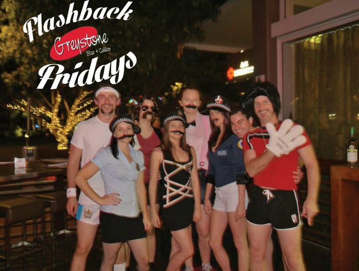 Flash Back Fridays! The bar staff for Movember, 2011